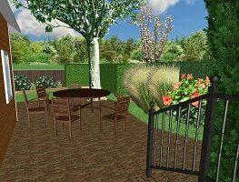 sajátkert - kerttervezés - virágágyás - fűszerkert